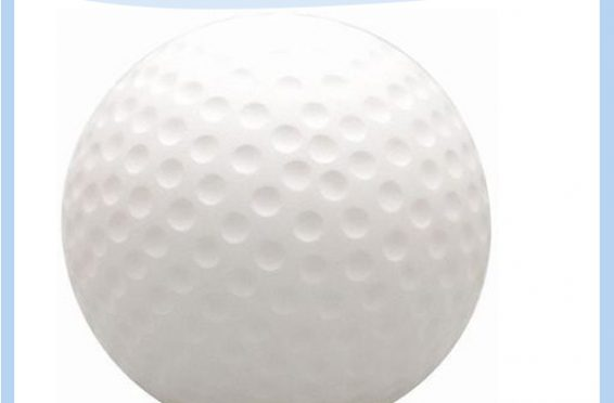Soft pu stress ball gifts golf promotional items