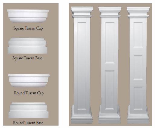PU roman column capital & base molds for sale