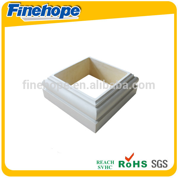 ISO9001 PU manufacture roman column capital