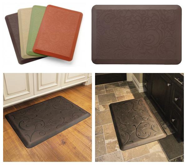 Foam Kitchen Mat PU Polyurethane Foam Waterproof Washable Anti Fatigue Slip Kitchen Mat Anti-corrosion Customize Manufacturer