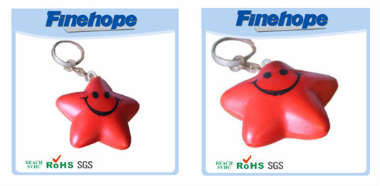 lovely smile keychain