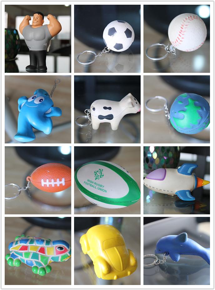 Stress Ball Manufacturer PU Polyurethane Soft Foam Toy Ball Cube Dice Anti Stress OEM Customize Manufacturer