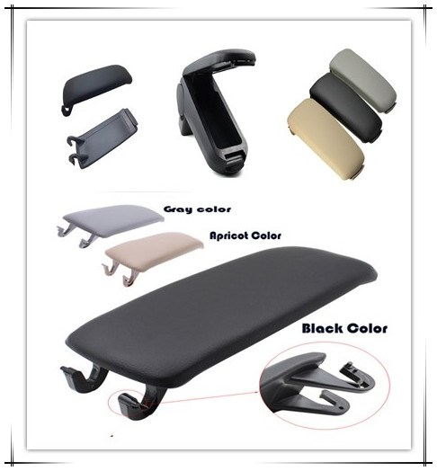 Black top quality armrest covers