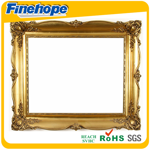 Good quality sweet pu funia oil antique gold classical painting frame