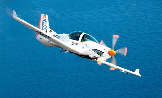 Flight Test: Grob G120TP  Photo: Christoph Schubert/Grob