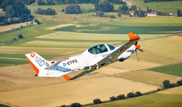 Flight Test: Grob G120TP  Photo: Christoph Schubert/Grob