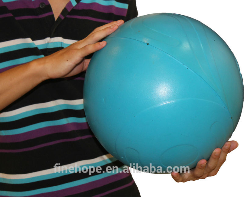 Indoor and outdoor exercise gym ball half yoga ball
