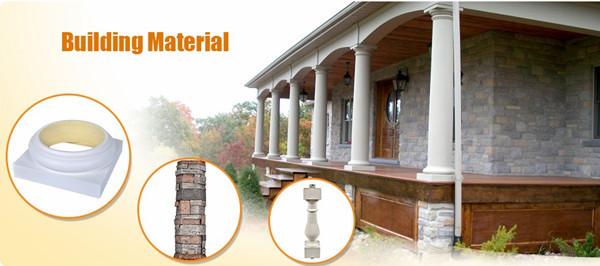 PU rigid foam building pillar caps and base OEM Customize Manufacturer