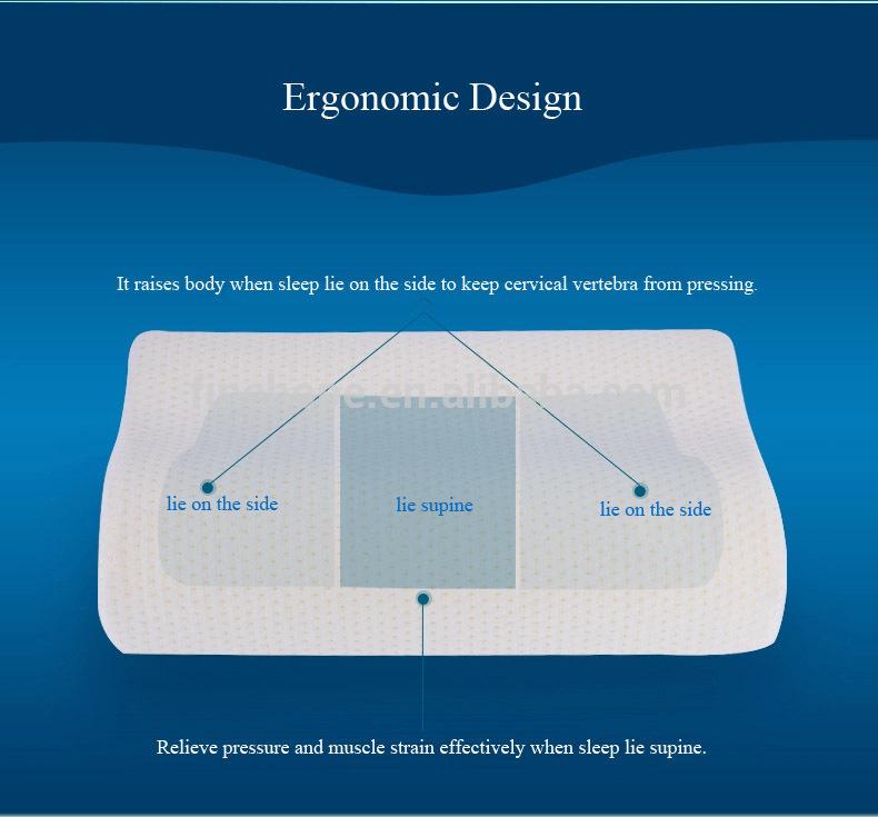 Body cylinder memory foam pillow factory