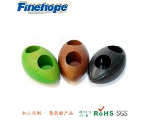 Polyurethane Decorative Rugby, pu Foam Glossy Football, pu Material Foam Cup Mat, China Polyurethane Product Manufacturer