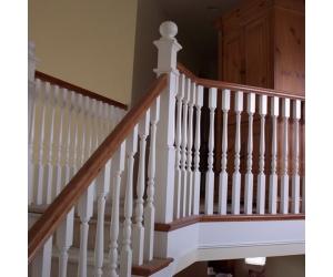 PU balustrade,handrailsoutdoor stairs,stair and balcony PU, PU handrails outdoor stairs
