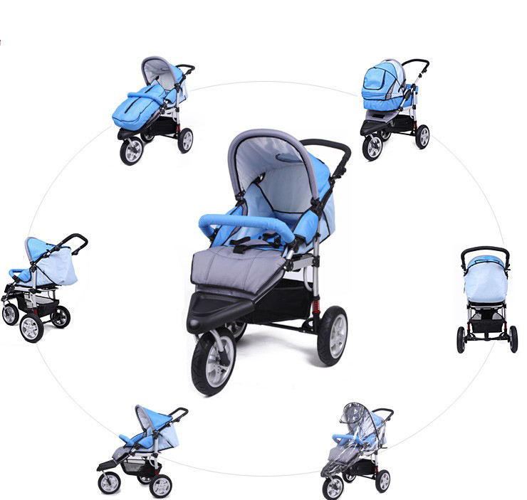 Inflation-free high quality baby carriage trolley baby stroller accessories