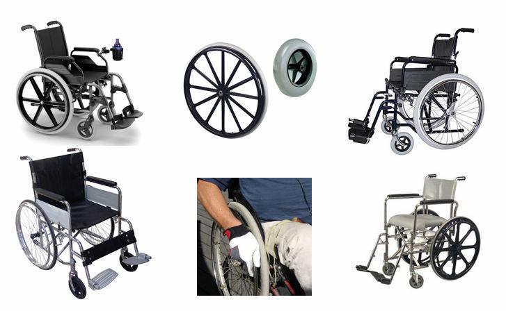 customized wheelchair front wheel