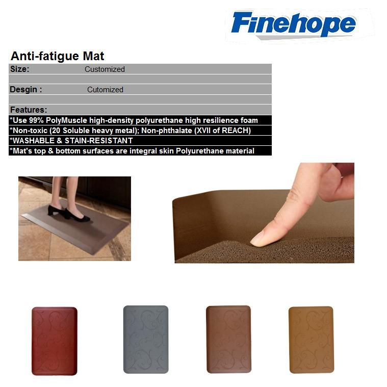 PU Polyurethane OEM Floor Kitchen mat