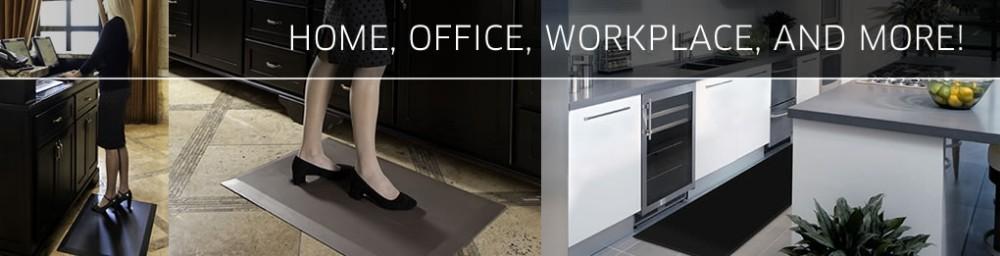PVC Foam Anti-slip Washable Non-Slip Kitchen Floor Mat