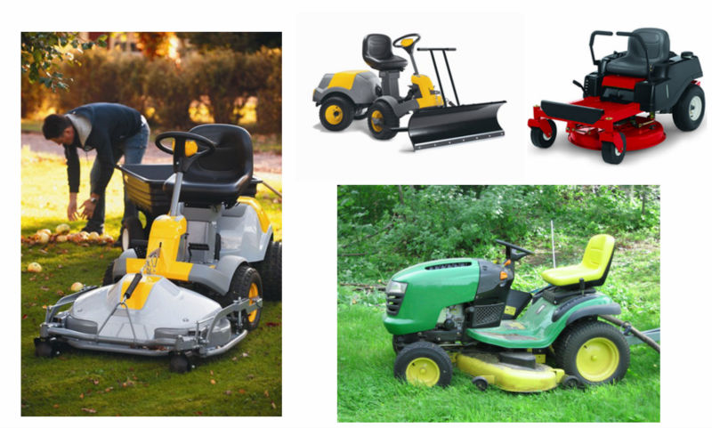 PU Polyurethane comfortable tractor lawn garden seat