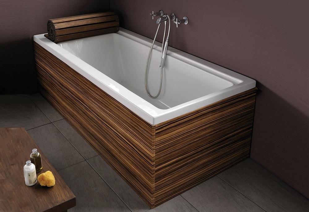 Polyurethane and lighter bathroom spa shower panel