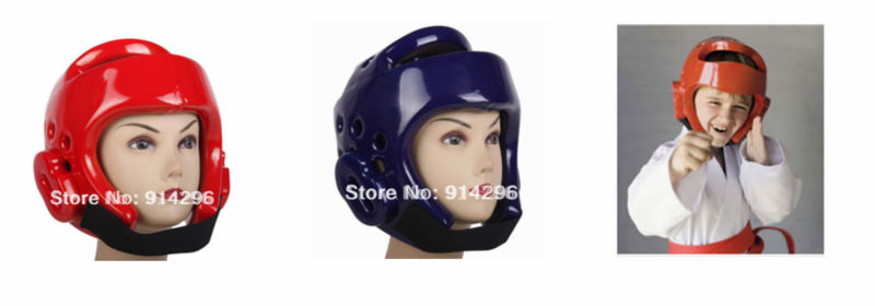 PU polyurethane Comfortable anti-cracking head protect PU boxing headgear