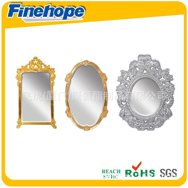6antique gold leaf frame wall