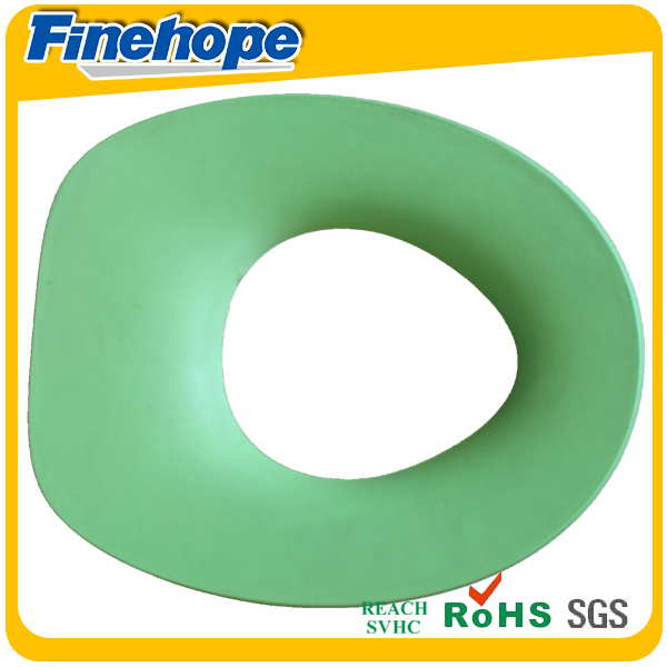 Polyurethane soft warm baby memory foam colorful european toilet seat