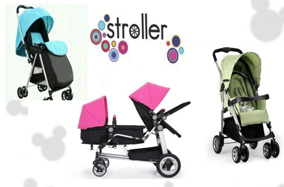 China high quality baby stroller big wheel