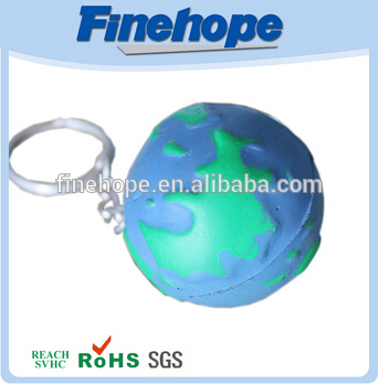 Bright colors and durable toy ball