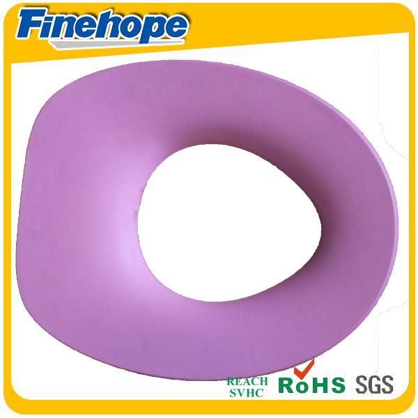 Polyurethane soft warm baby memory foam colorful kids toilet seat