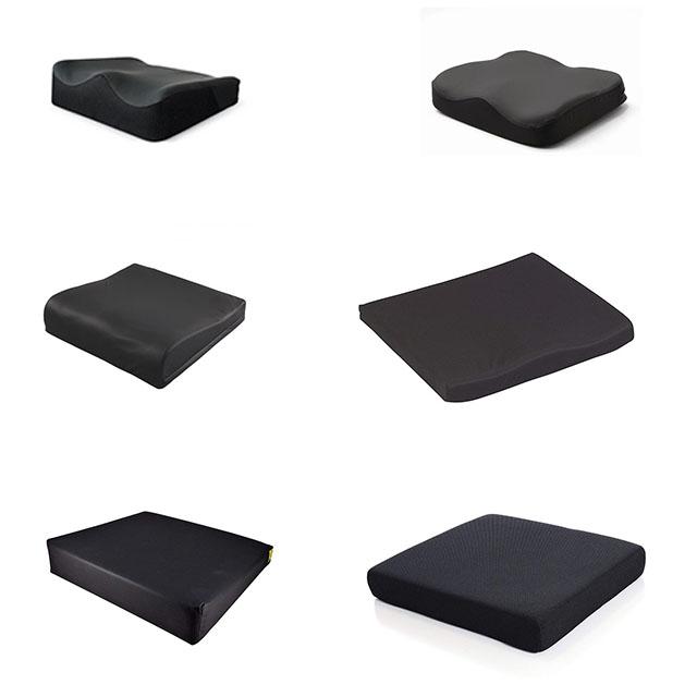 Non-Slip Tailbone Sciatica Back Pain Relief PU Memory Foam Coccyx Seat Cushion