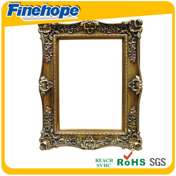 pu classical gold small antique photo frame sale