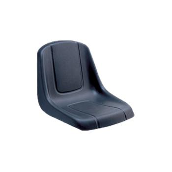Hotsale custom made promotional self-skinning PU foam large big black seat cushions in Xiamen