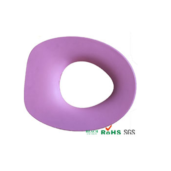 Warm Polyurethane private brand logo baby toilet seat cover