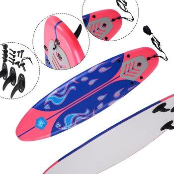 China Manufactured Polyurethane Foam Surfboard