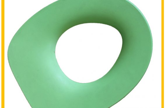 Polyurethane soft warm baby memory foam colorful kids toilet seat