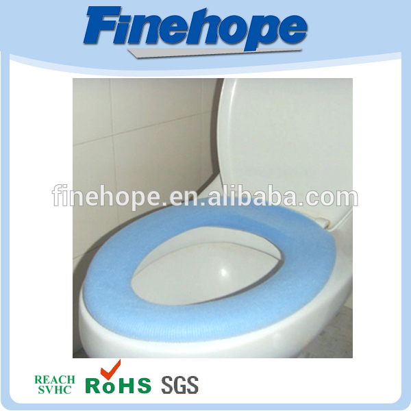 Polyurethane Environmental New design inflatable toilet seat cushion