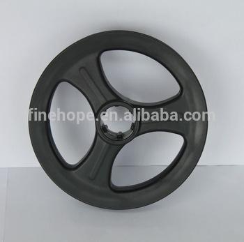 Solid Wheelbarrow Tires Non-pneumatic Flat-free PU Polyurethane Foam Solid Tires Tyres Wheels Customize Manufacturer