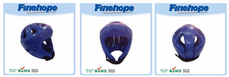 Comfortable anti-cracking head protect PU boxing custom safety helmet