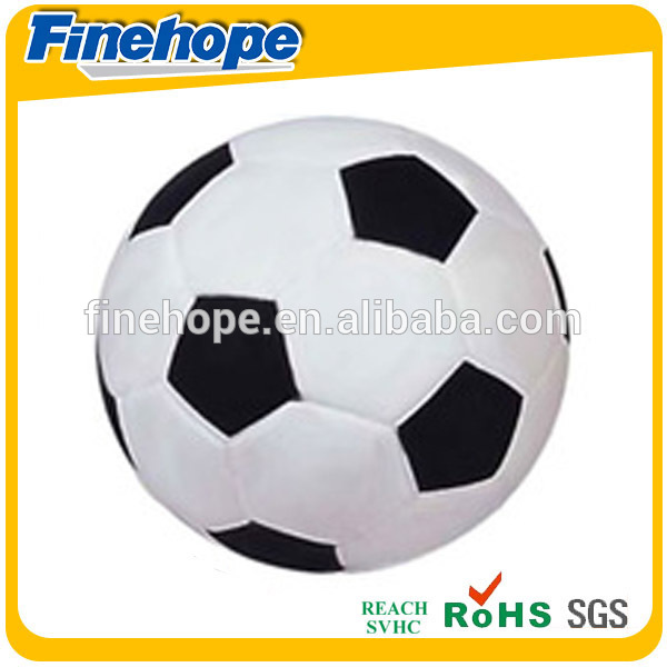 promotional pu memory foam soccer ball