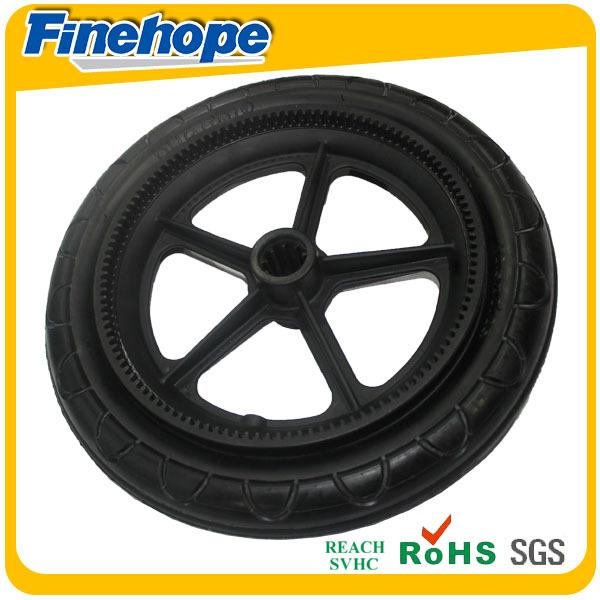 PU polyurethane Anti-shock custom baby stroller trolley wheel tyre carriage tire