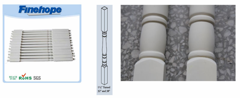 decorative polyurethane baluster