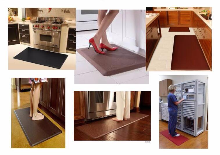 PU Polyurethane kitchen best anti fatigue cushioned mat foam matss