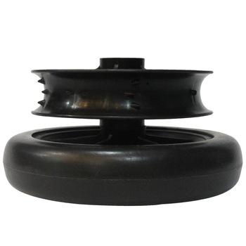 PU polyurethane antifriction colorful Custom pu airless tire