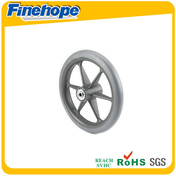 PU Polyurethane customized solid wheel 9 inch solid wheel
