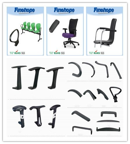 PU Material chair armrest/Comfort Portable Office Chair Armrest