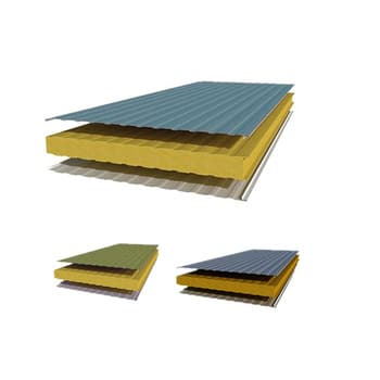 Heat Insulation Weather Proof PU Sandwich Panel Price